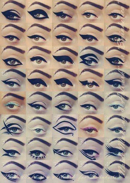 макияж для карих глаз, примеры, цвета, оттенки