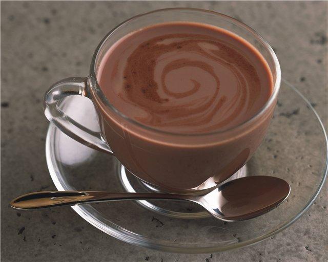 горячий шоколад, популярные рецепты, приготовление