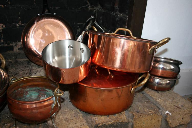 медь, медная посуда, вредная ли, как выглядит