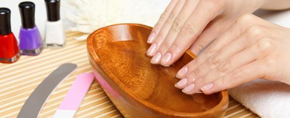 ванночка для рук, заусенцы лечение