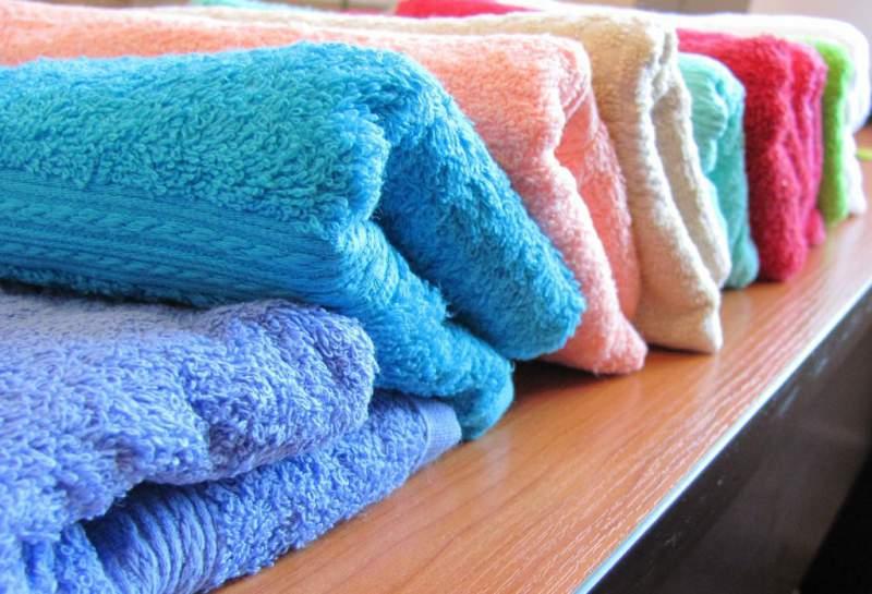махровые полотенца, вернуть мягкость, дубовые