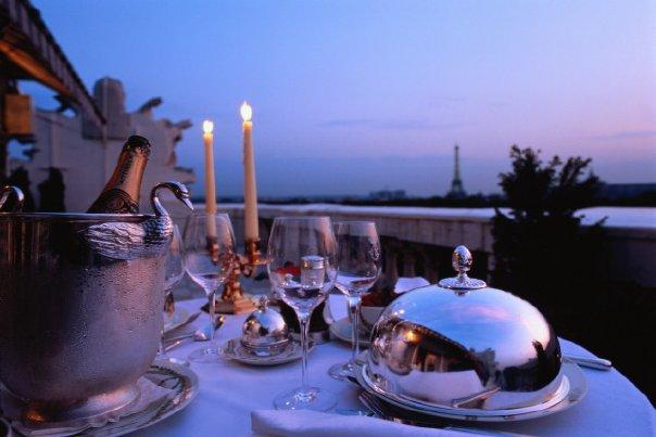 романтика в ресторане, незабываемый и романтический вечер