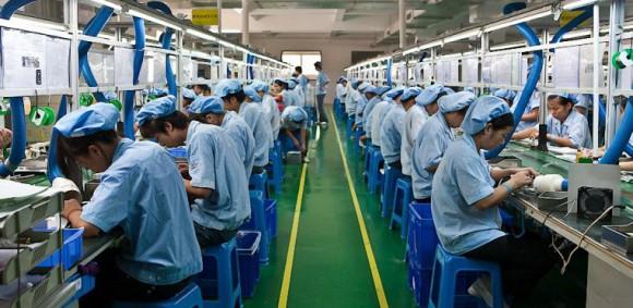 завод в китае, сборка техники, отличия китайской техники
