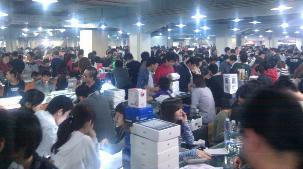 китай рынок техники, планшетов, китайские товары