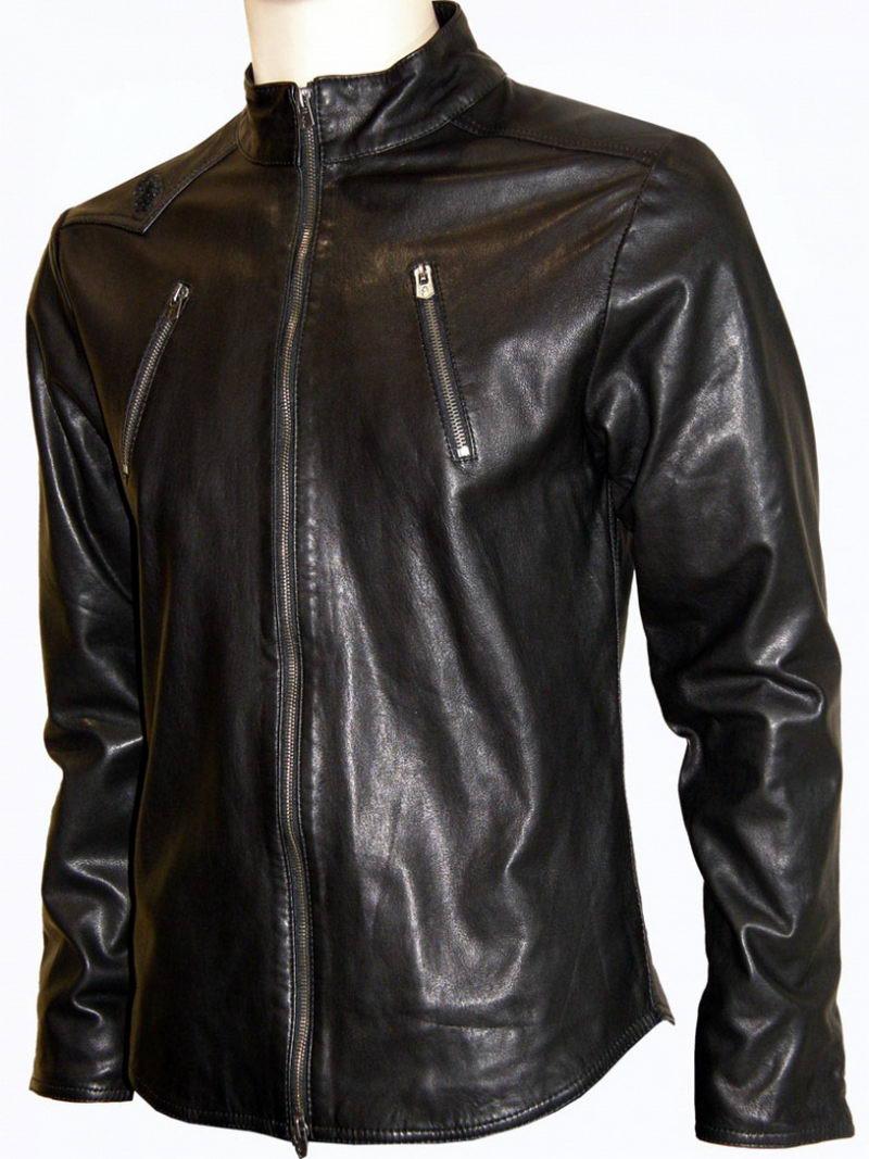 кожаная куртка или как разгладить мятую кожу