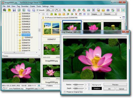 FastStone Image viewer интерфейс, скачать, возможности программы
