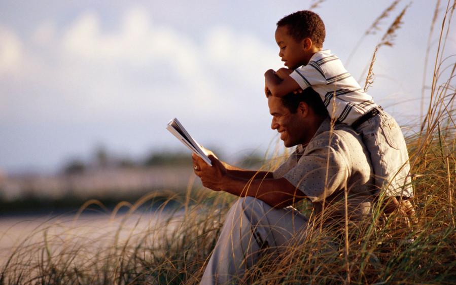 отец и сын читают - как сблизить отца и сына