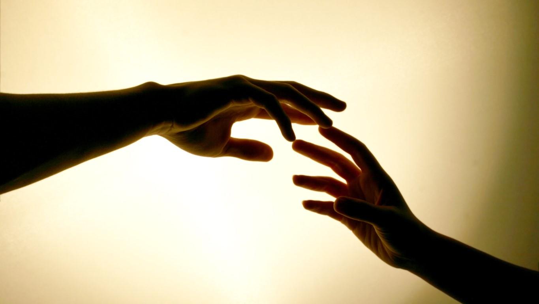 две руки, расставание, вернуть отношения, бывшего парня