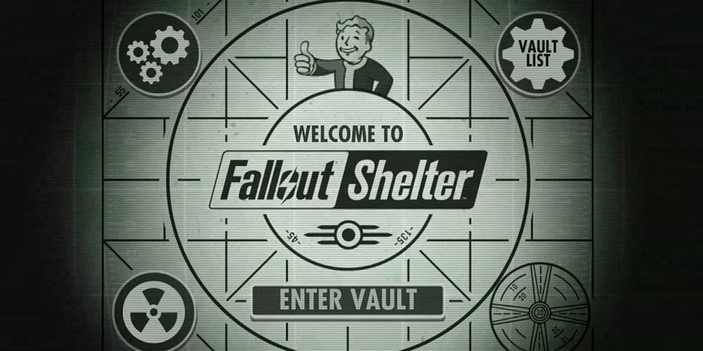 fallout shelter - логотип игры, советы по игре