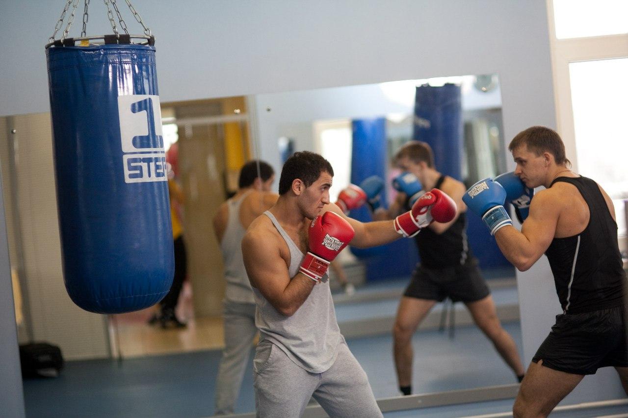 занятия боксом, борьба со страхом драки