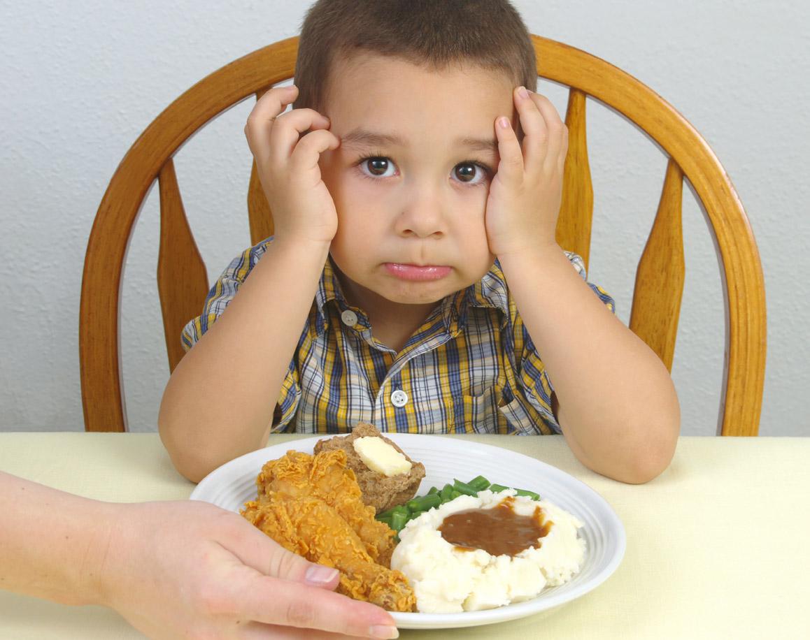 ребенок не ест, что сказать если не хочешь кушать