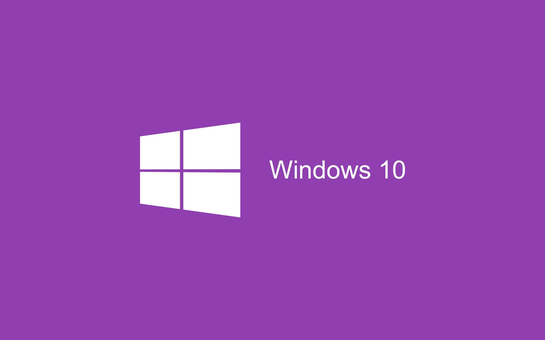 windows 10 логотип, обои на стол