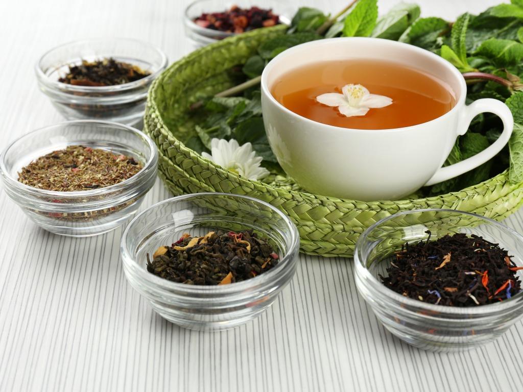 различные сорта, виды чая, как хранить чай