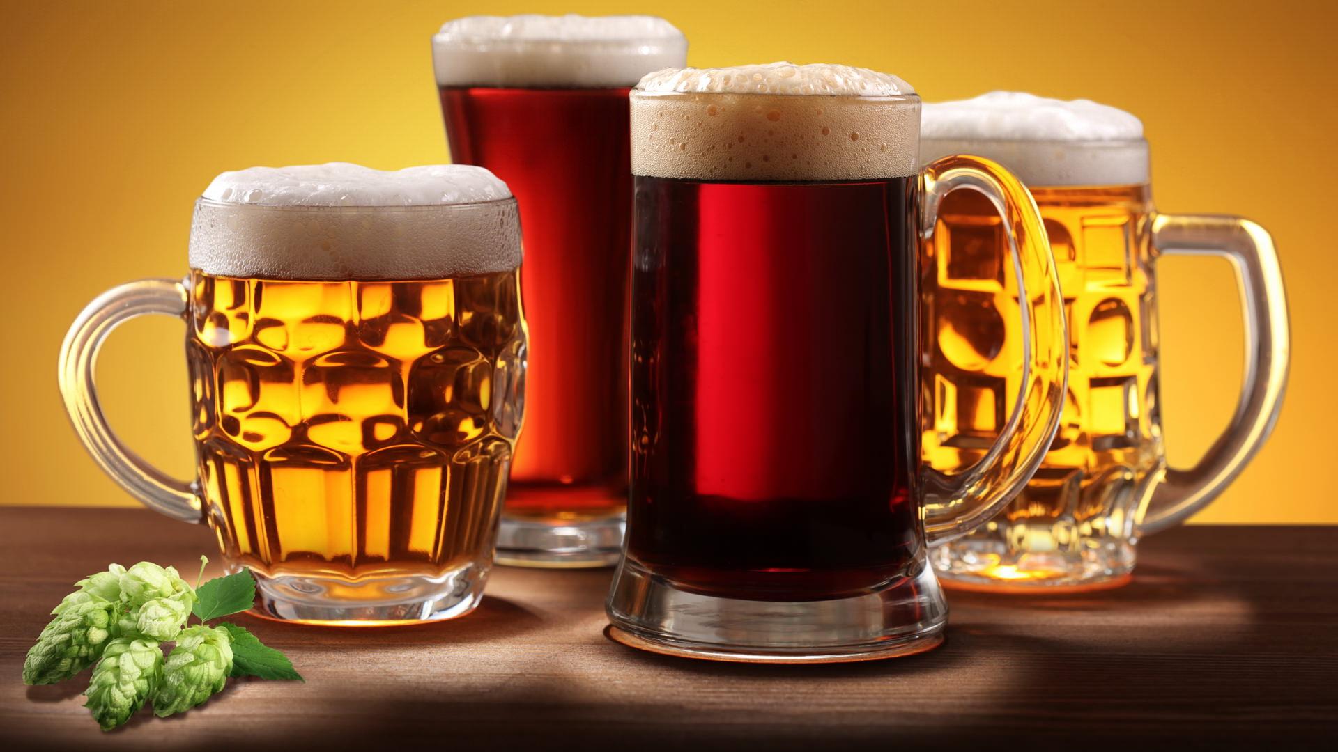 разное пиво, как правильно пить пиво