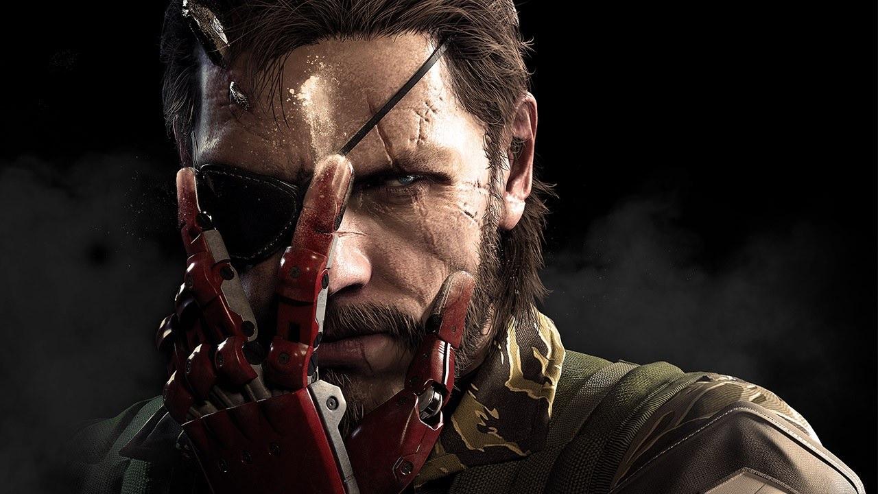 metal gear phantom pain снейк, главный герой, постер, обои