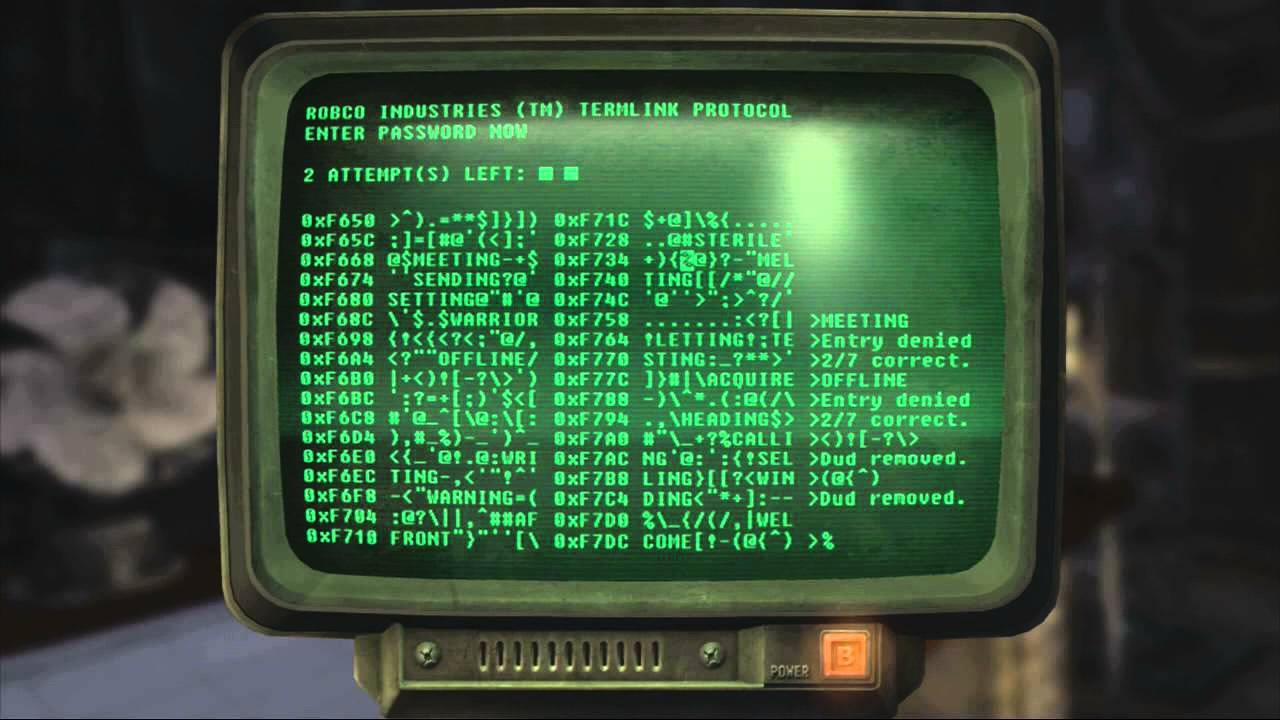 терминал в играх fallout, fallout 4 взлом терминала