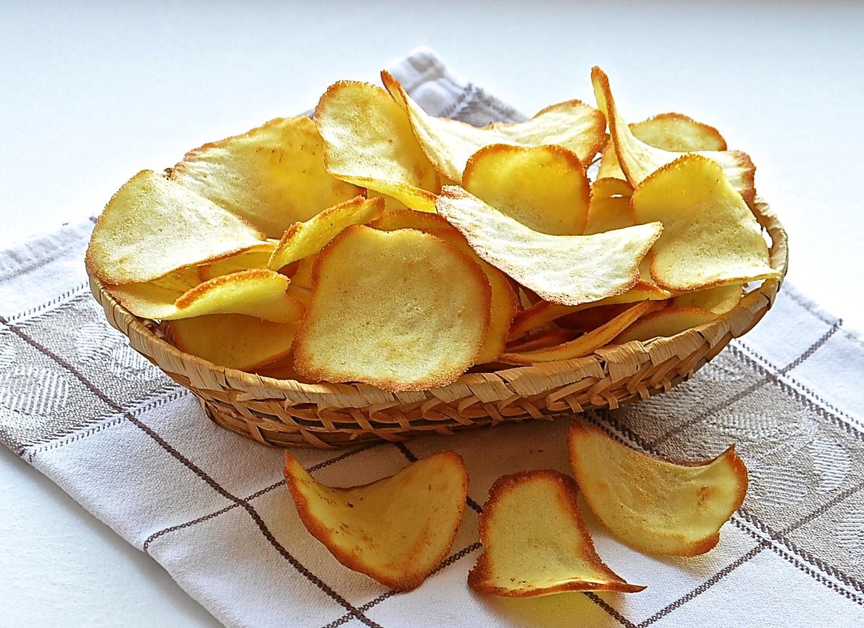 домашние чипсы, рецепт, как приготовить
