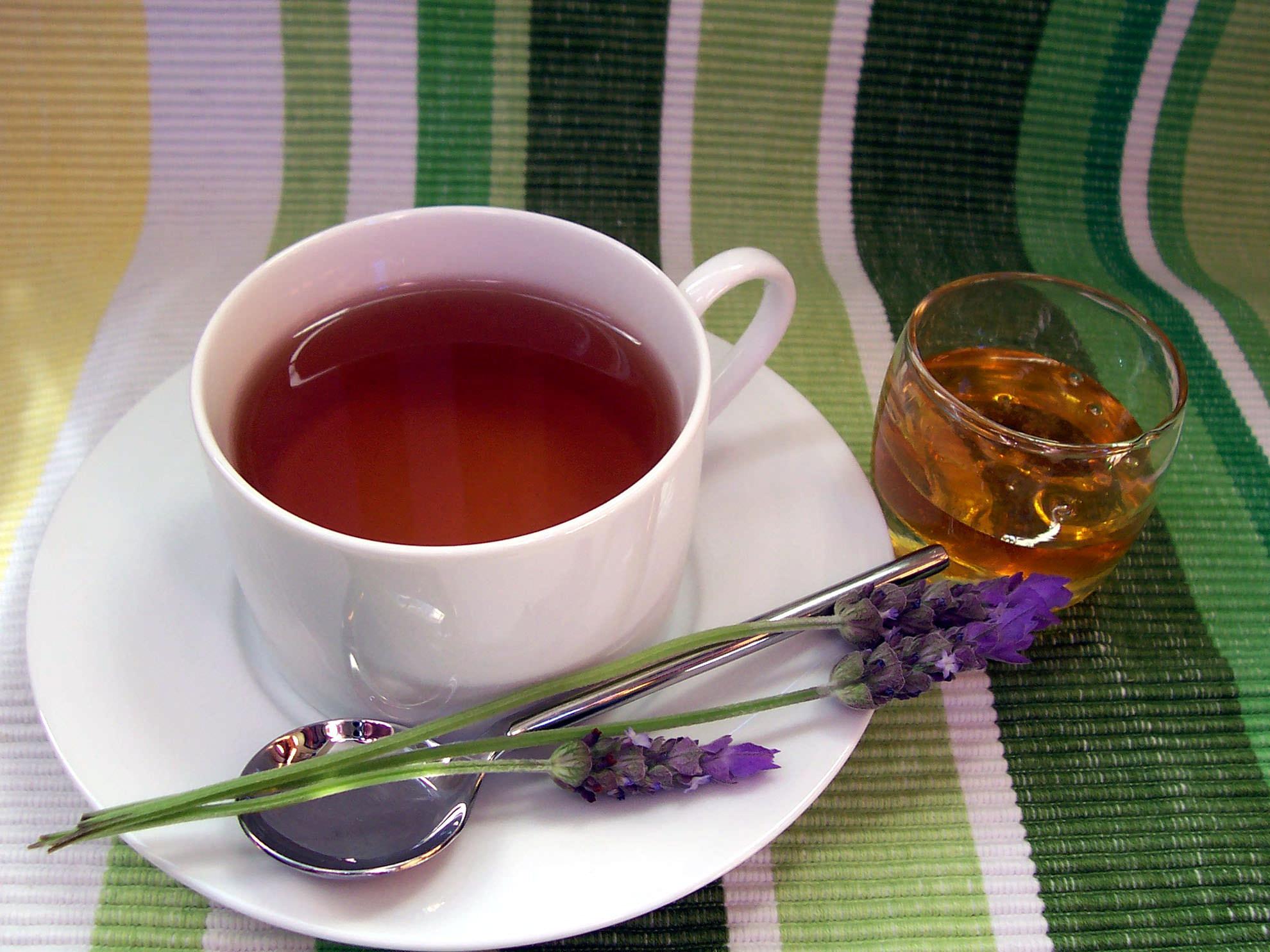 лаванда, чай из лаванды, польза