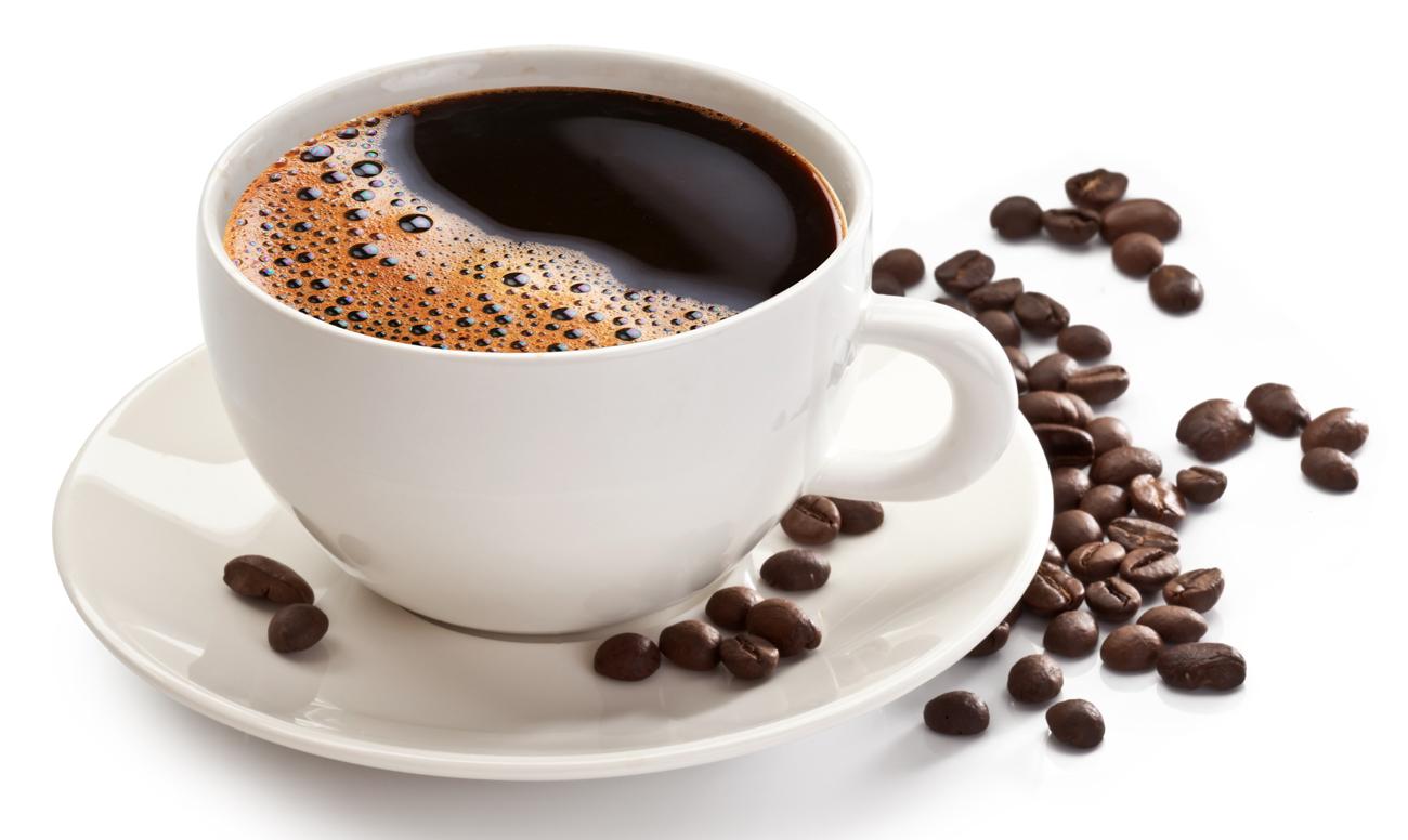 кофе, чашка кофе, напиток и зерна