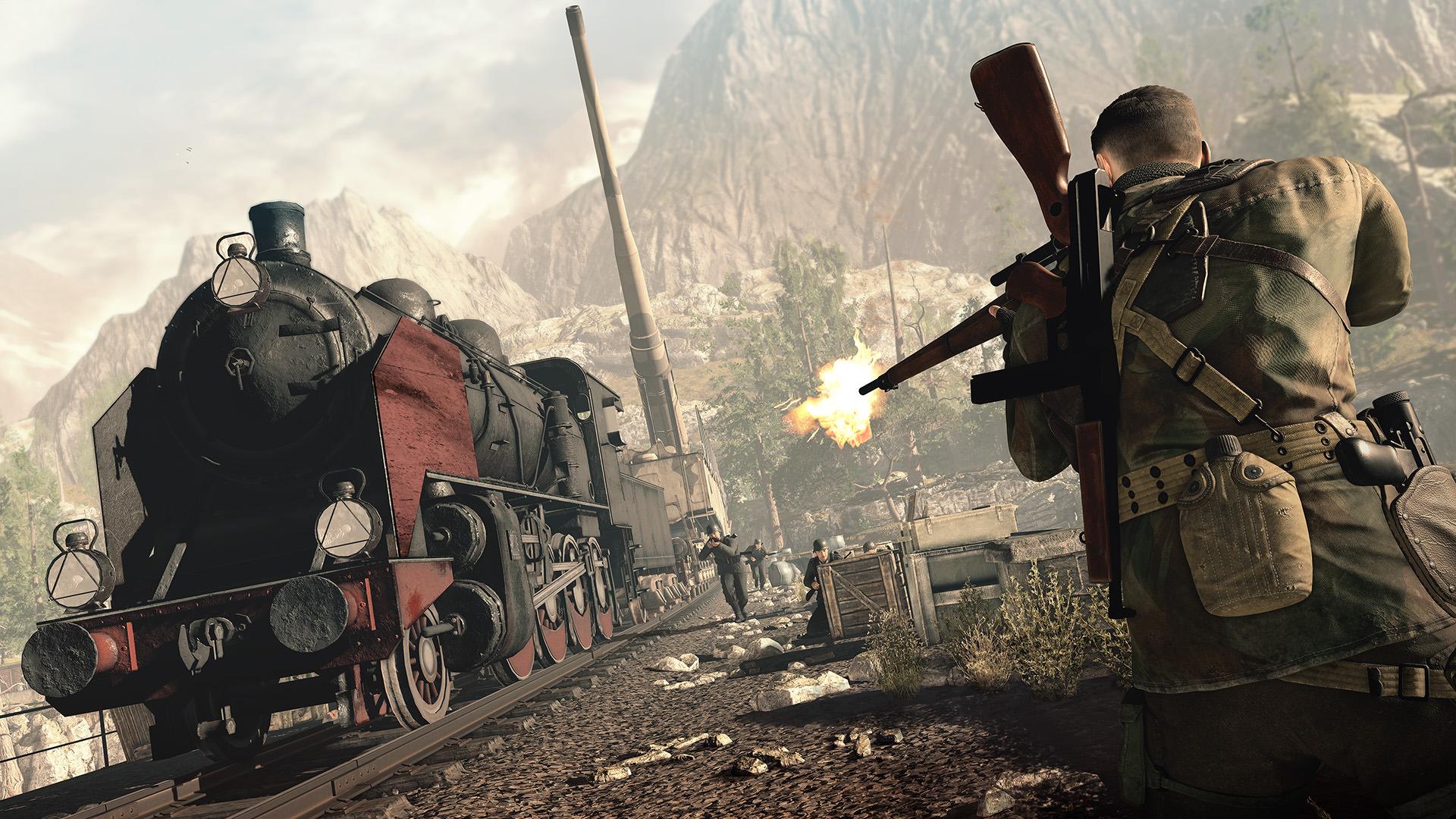sniper elite 4, скриншот