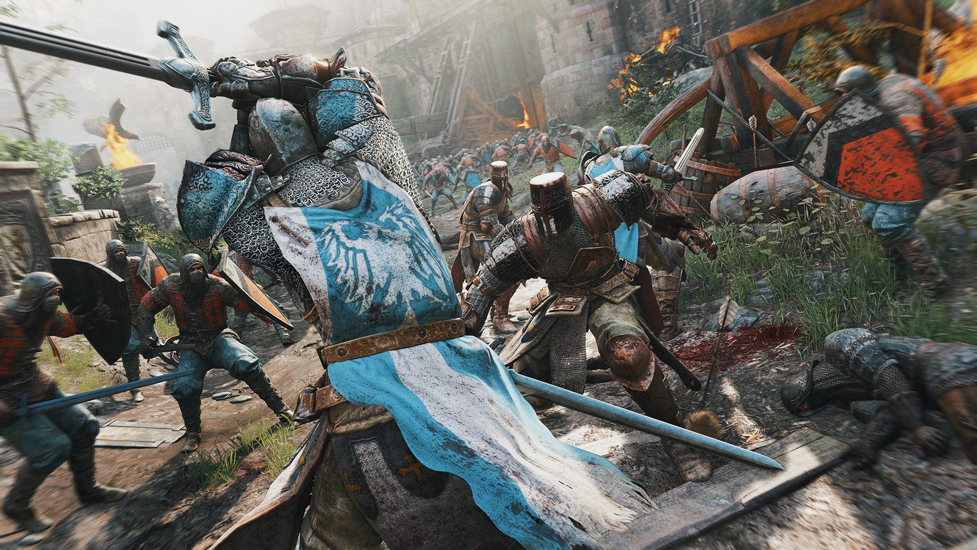 for honor - массовое сражения, битва, поле боя, осада, обои