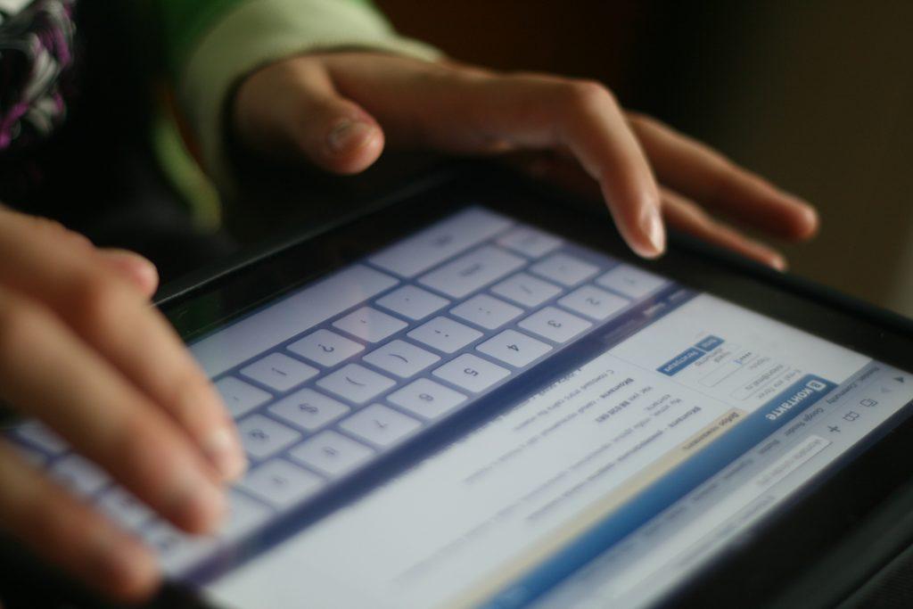 вконтакте на планшете, социальная сеть vk.com