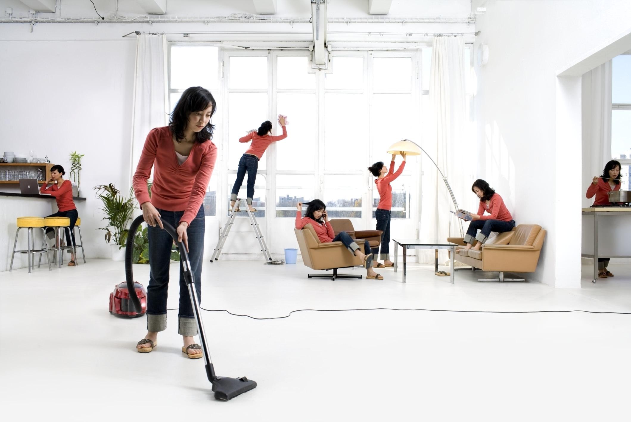 уборка дома, квартиры, кто должен убирать