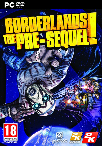 Borderlands: The Pre-Sequel logo, coverart, логотип, картинка