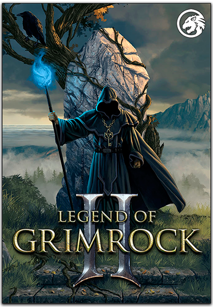 Legend of Grimrock 2 logo, coverart, логотип, картинка