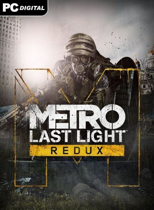 Metro 2033 Last Light Redux logo, coverart, логотип, картинка
