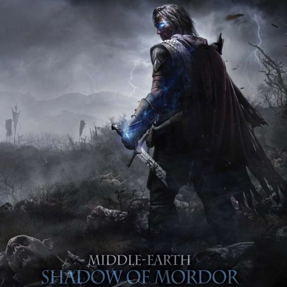 Middle-earth Shadow of Mordor logo, coverart, логотип, картинка