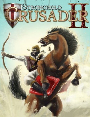 Stronghold Crusader 2 logo, coverart, логотип, картинка