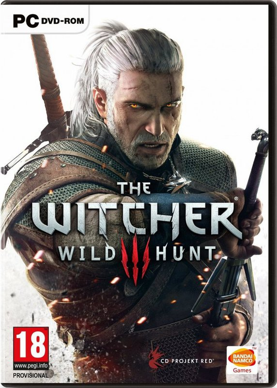 The Witcher 3: Wild Hunt logo, coverart, логотип, картинка