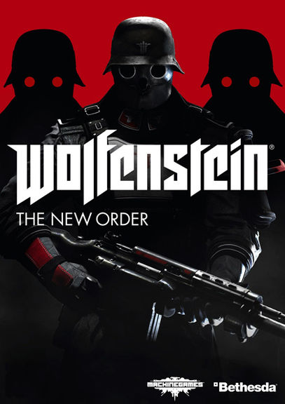 Wolfenstein: The New Order logo, coverart, логотип, картинка